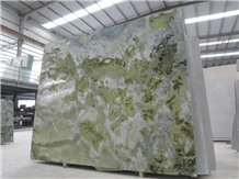 Paradise Jade Marble Green Polished Slabs for Wall