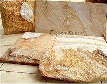 Bali Yellow Palimanan Sandstone Stone Slabs Tiles