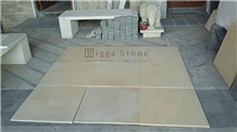 Cream Limestone Tiles Jogja Indonesia Paras Yogya