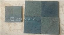 Green Sukabumi Stone Pedra Hijau Lisa Pool Tiles