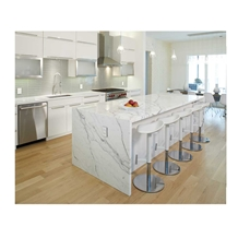 Artificial Calacatta Quartz Countertop Price