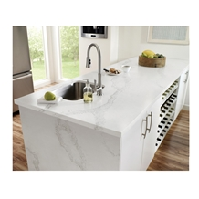 Calacatta White Artificial Quartz Counter Tops
