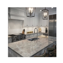 Crystal White Galaxy Quartz Countertop