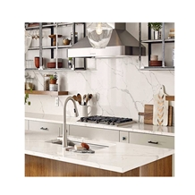 Fake Crystal White Gray Quartz Countertops