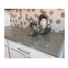 Gray Artificial Quartz Stone Countertop