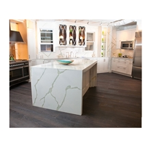 Kitchen Table Top Material White Calacatta Design
