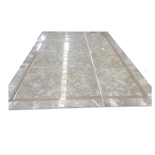 Square Marble Floor Water Jet Medallions