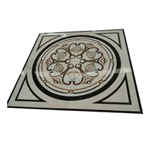 Water Jet Cut Marble Medallion Design Pattern