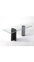 Antiquaria Nero Marquina Marble Table Base