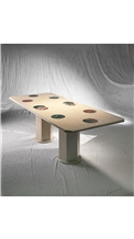 Apparata Beige Marble Table