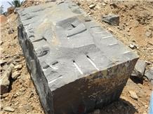 Premium Black Granite Blocks