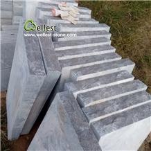 Grey Bluestone Tiles Wall Caps, Wall Coping Tile