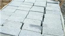 Fargo Grey Granite Tumbled Cobble Pavers