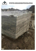 Ts-0043 Light Silver Travertine Blocks