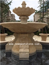 Large Outdoor Decorative Marble Water Fountains