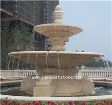 Large Sculptured Outdoor Marble Fountains on Sale
