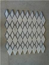 Bianco Carrara Thassos Cinderella Waterjet Marble