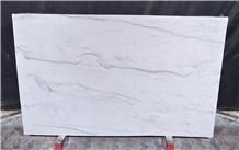 Mont Blanc Quartzite Slabs, Brazil White Quartzite