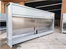 Water Based Dust Collection System for Granite