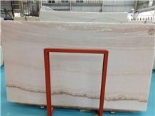 Striped White Onyx Slabs