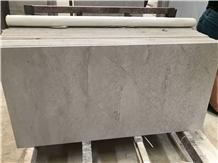 China Honed Silver Ash Travertine Blocks Tiles