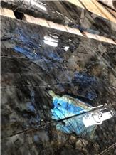 Labradorite Blue Granite Labrador Big Slabs Tiles