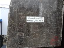 Almond Pearl Granite Blocks- Own Quarry