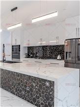 Villa Agate Black Wall Kitchen Backsplash Tiles