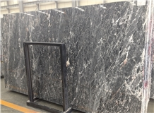 Emperador Black Honed Marble Tiles Slabs Wall