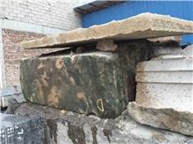 Green Verde Laponia Marble Rough Blocks Boulders