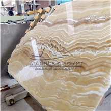 Gold Alabaster Onyx Slabs