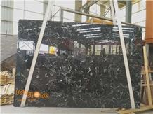 Black Tornado Marble Slas Tiles Chinese Stones