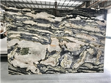 Polished 1.8cm Twillight Chinese Marble Slabs