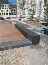 Black Basalt Bench Honed or Polished