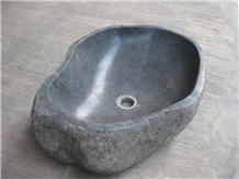 Indonesia River Stone Bathroom Wash Basins
