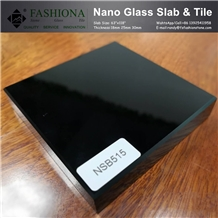 Absolute Black Nano Glass Slabs,Tiles