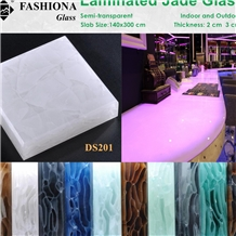 Backlight Jade Glass Panel,Interior & Exterior