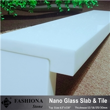 White Nano Crystallized Glass Stone,Counter Tops