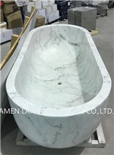 White Stone Bathtub