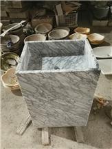 Natural Marble Stone Bathroom Wash Hand Basin