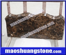 China Dark Emperador Polished Mable Stone