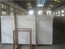 Volakas White Marble, White Marble Slab
