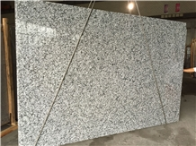 Wave White Granite, White Mist Granite Slab