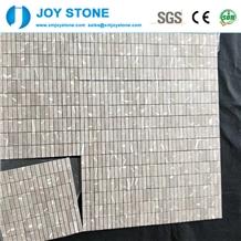 Good Quality Polished Grey Marble Bathroom Mosaic