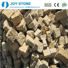 Yellow Rusty G682 Granite Paving Stone