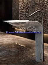 Marble Pedestals Sinks Basins Ziarat White