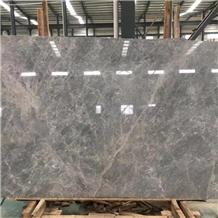 Grey Silver Mink Marble Slab Tiles