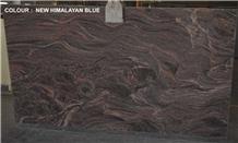 New Himalaya Blue Granite Slabs - Premium Quality
