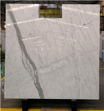 Italy Statuario Caldia White Marble Slab Price