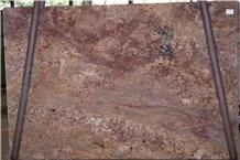 Monaco Bordeaux Granite Slabs